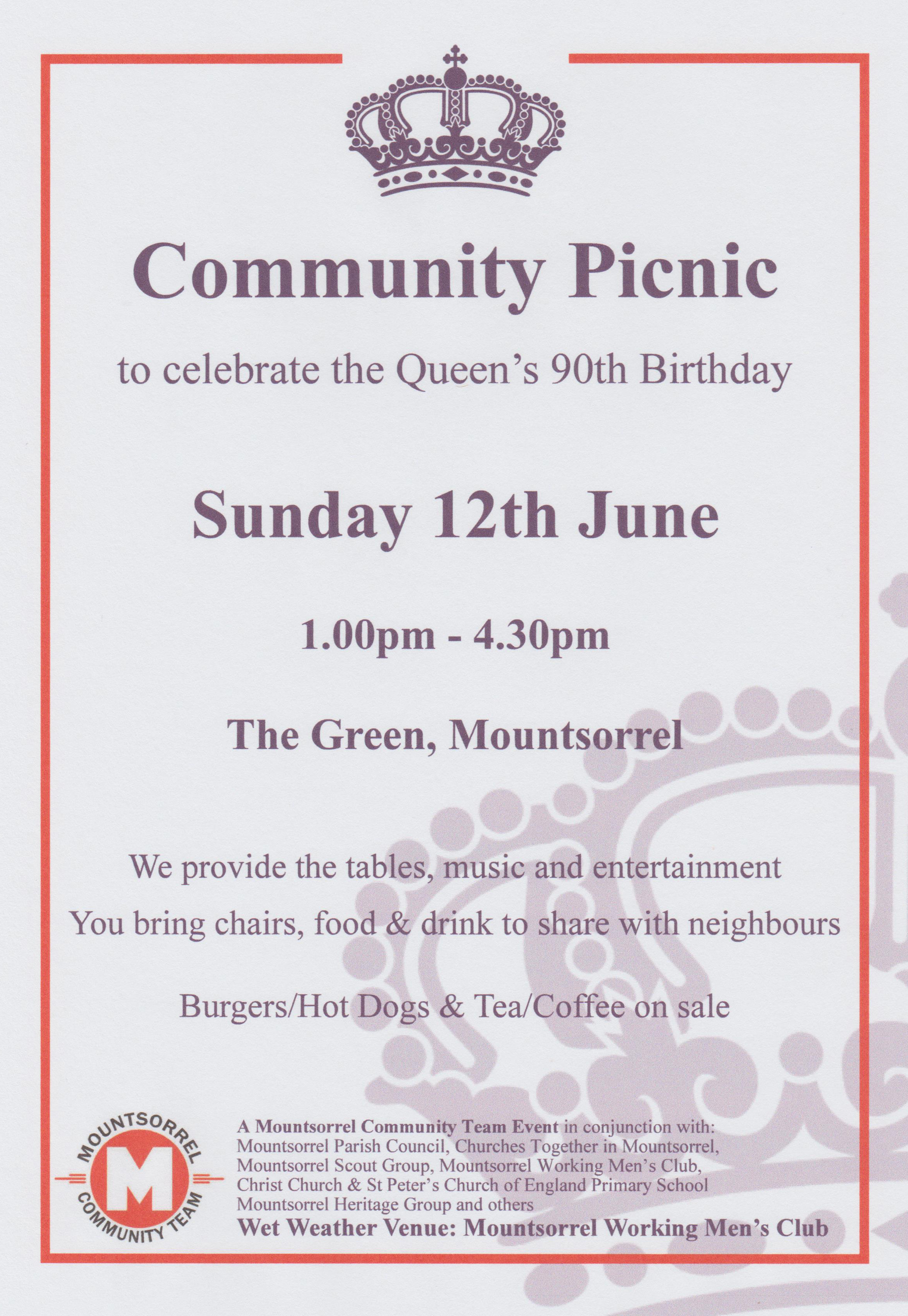 Queens 90th Poster