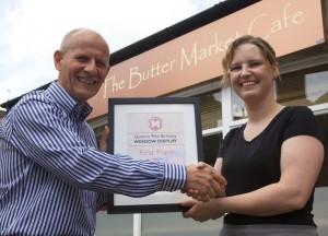 1st Place - Butter Market Cafe